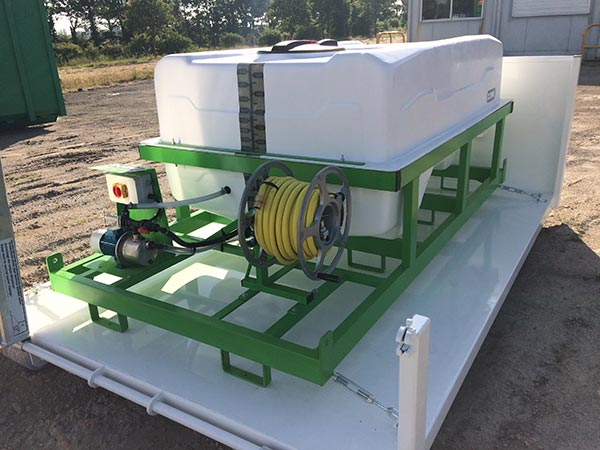 benne amovible systeme ampliroll pour agriculture